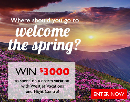 Where should you go to welcome the spring? Contest