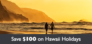 Save $100 per couple on Hawaii holidays with Air Canada Vacations