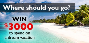 Where should you go for the ultimate summer break? Enter to win!