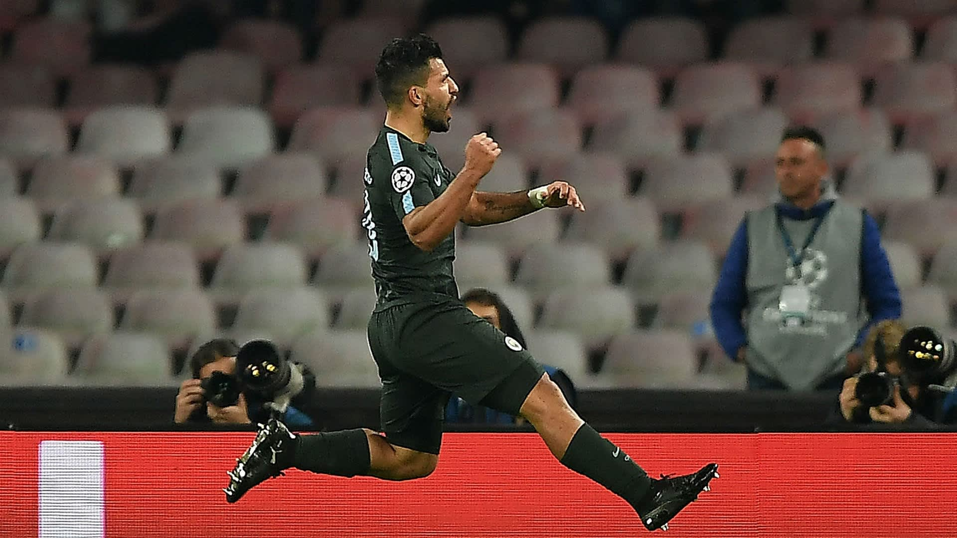 Sergio Aguero - Manchester City striker