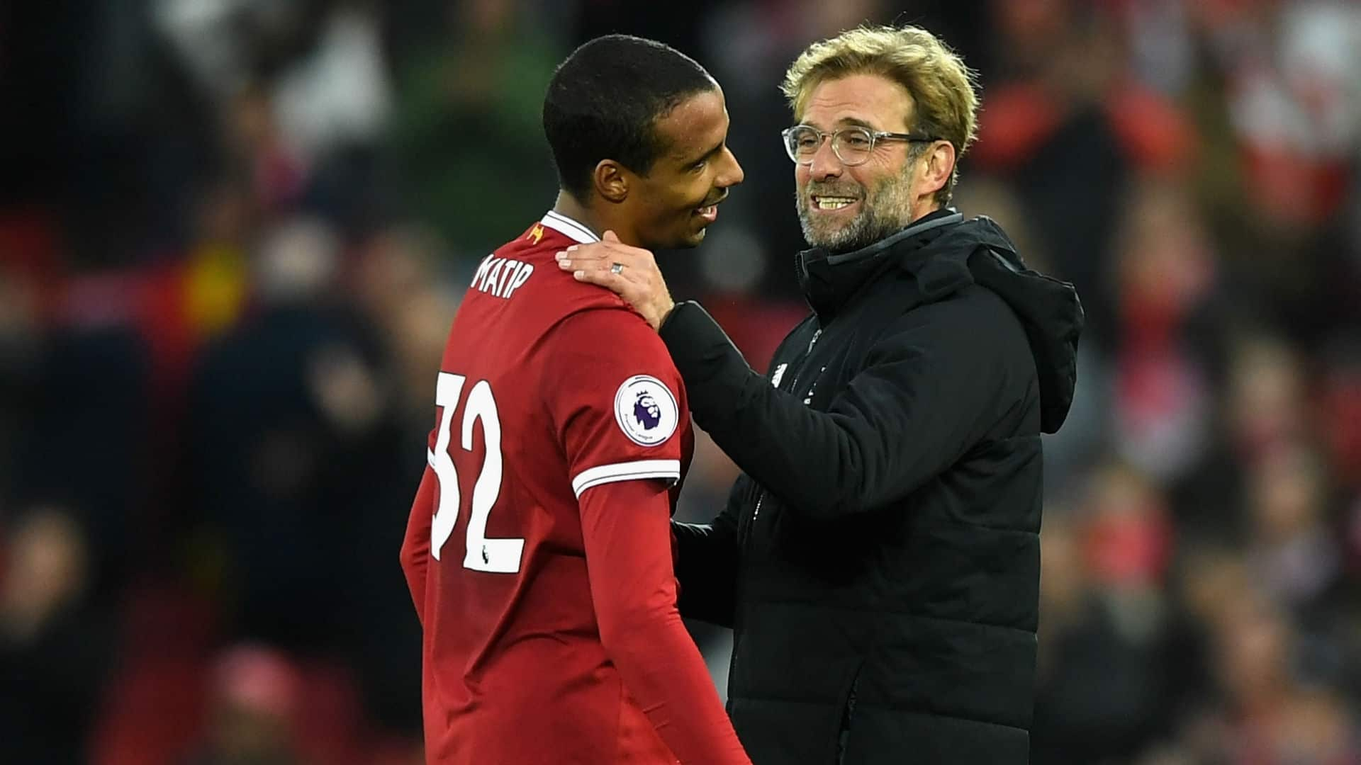 Klopp and Joel Matip