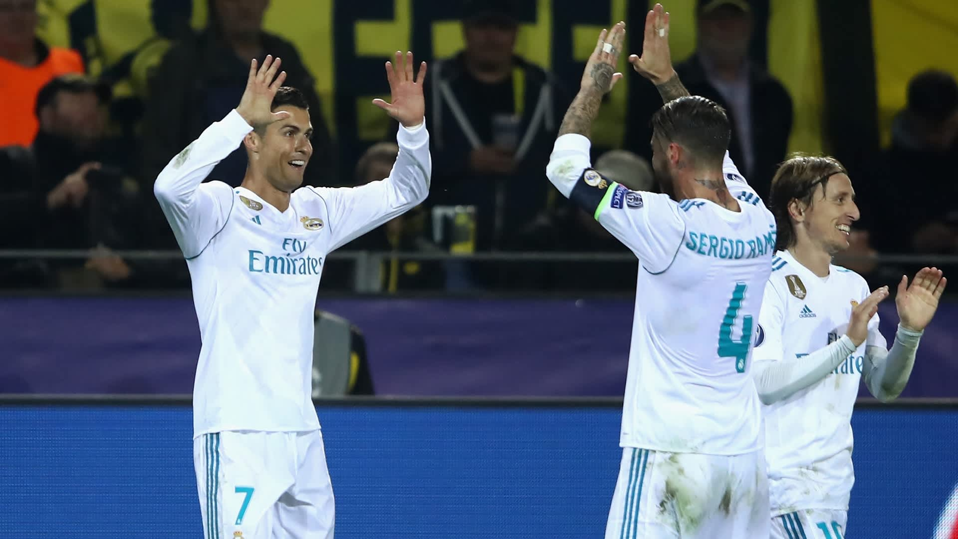 Ronaldo and Ramos - Real Madrid
