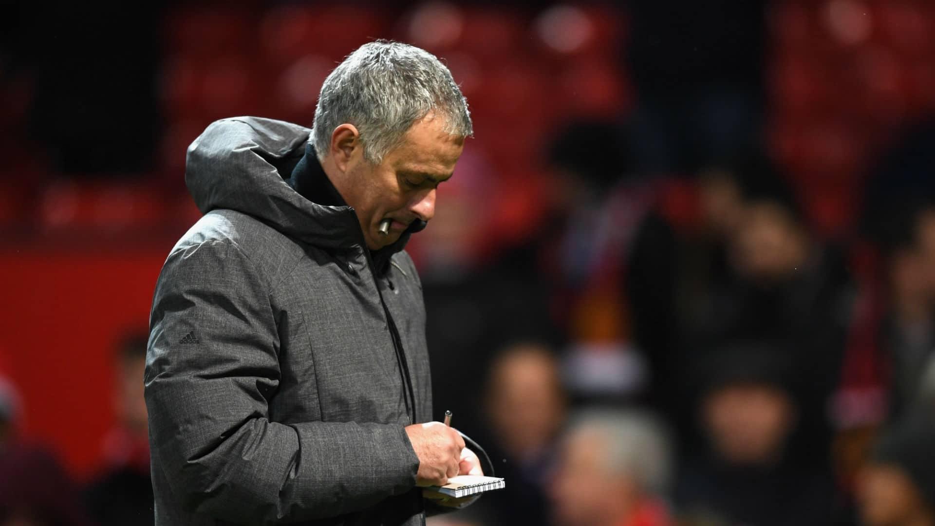 Jose Mourinho - United