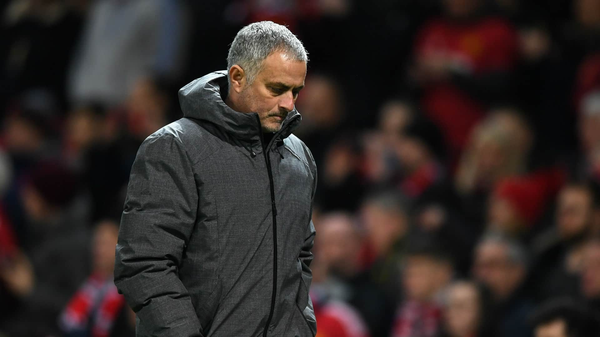 Jose Mourinho in deep though over Manchester United future