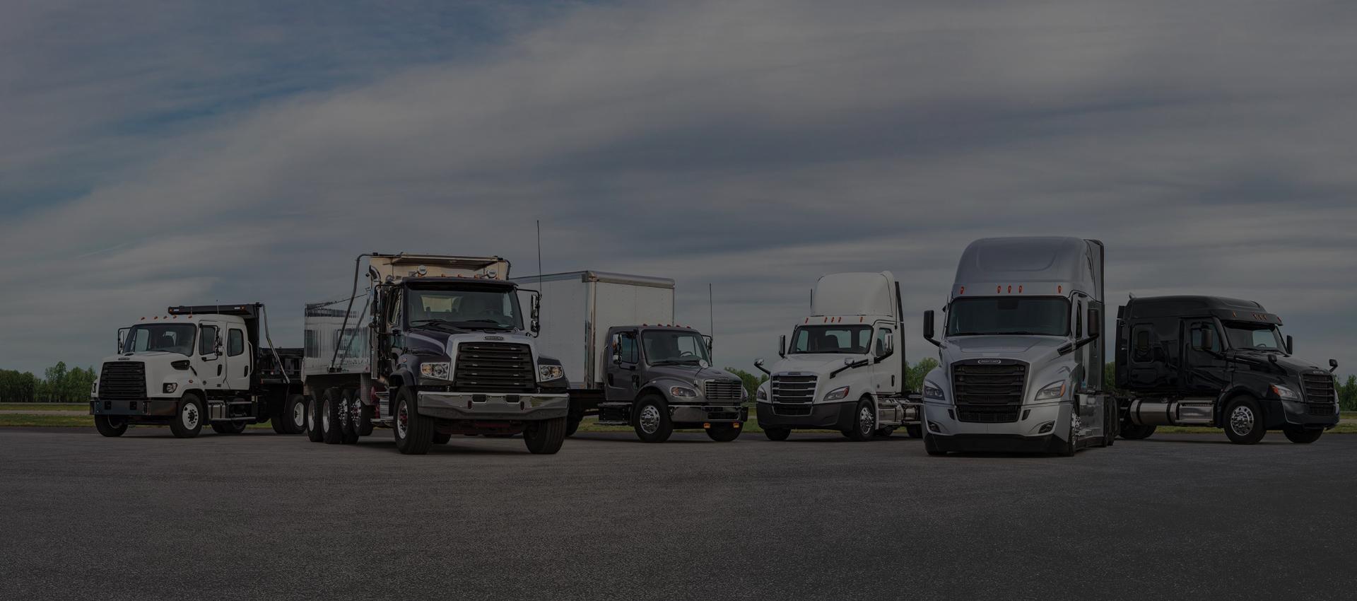 Main lsider Freightliner Truck