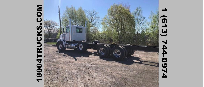 Rear of truck