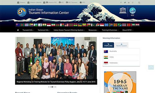 Indian Ocean Tsunami Information Center (IOTIC) Website