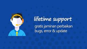 Layanan lifetime support dari Focus