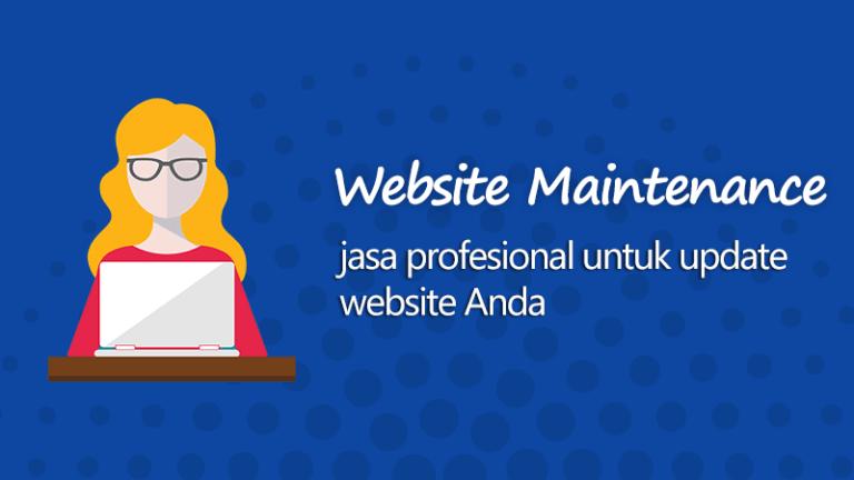 Jasa profesional untuk update website Anda