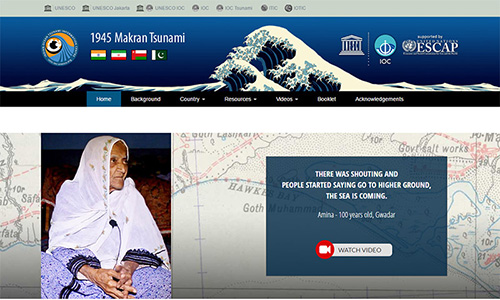 IOTIC - 1945 Makran Tsunami Website