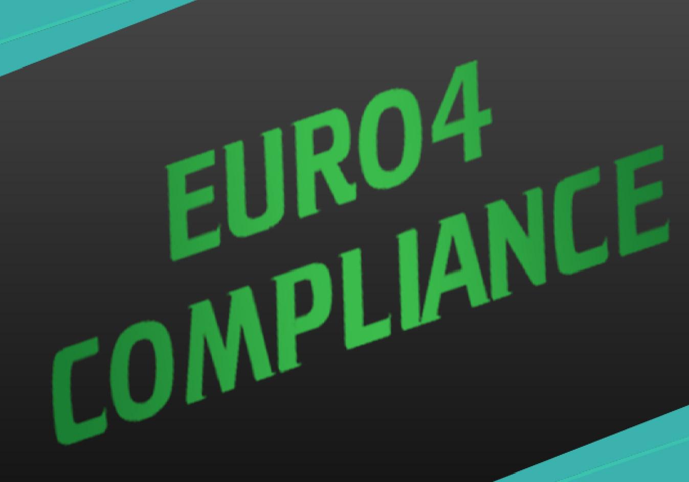 EURO 4 Compliance