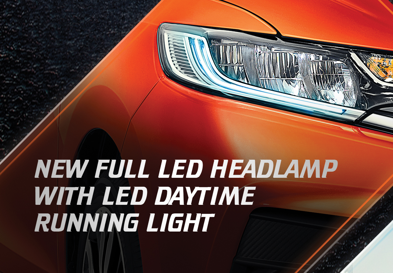 Full LED Headlamp with DRL