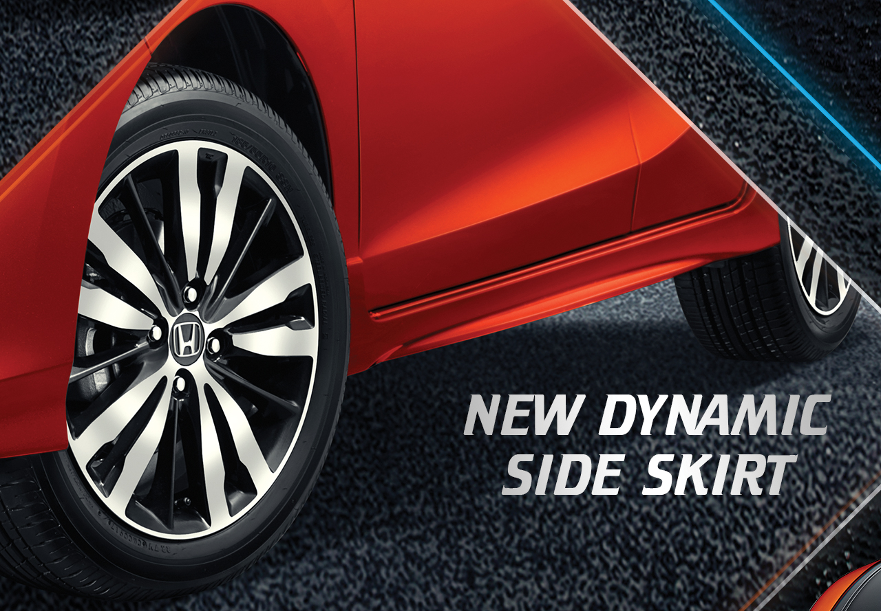 Dynamic Side Skirt