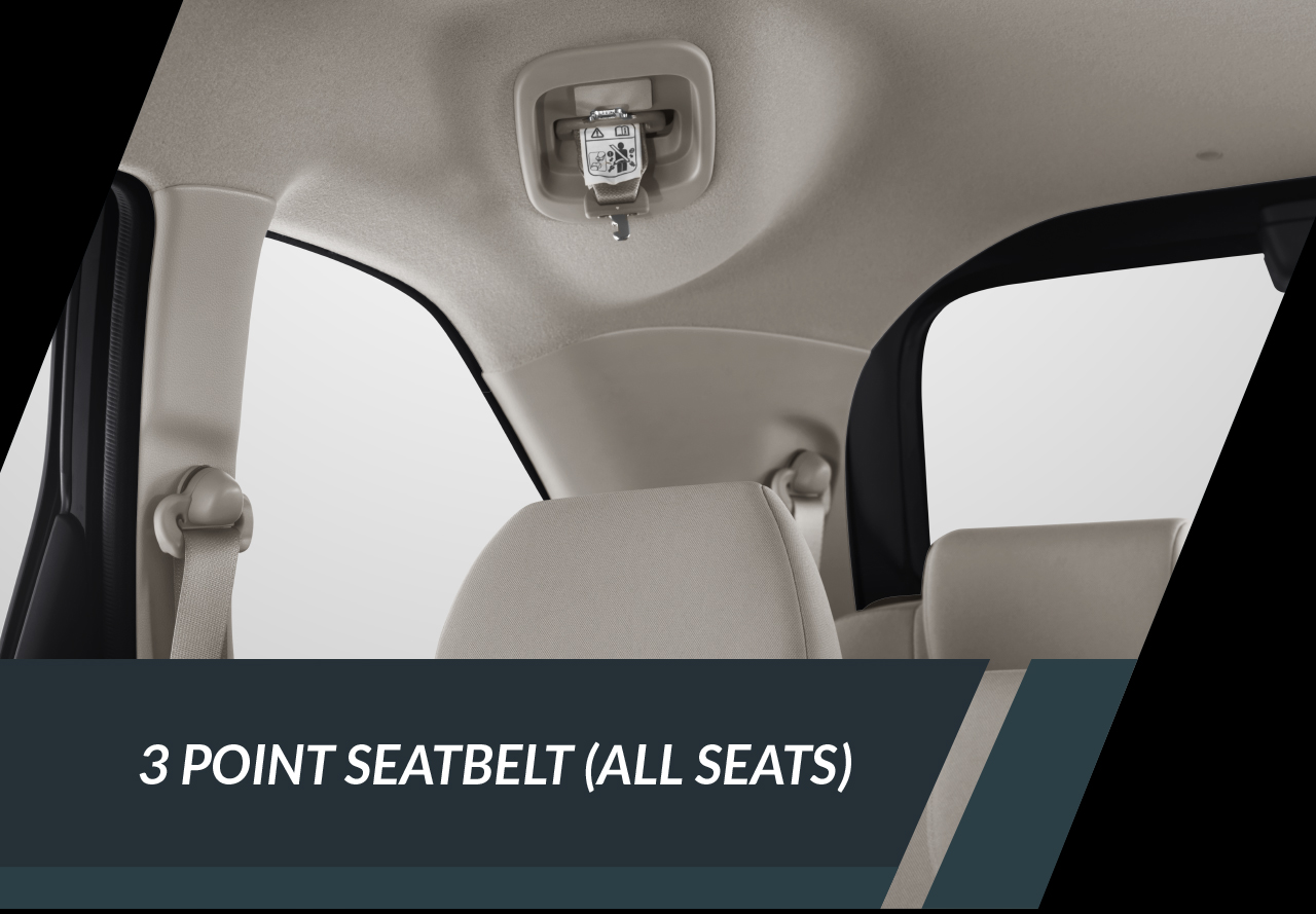 3 Point Seatbelt (All Type)