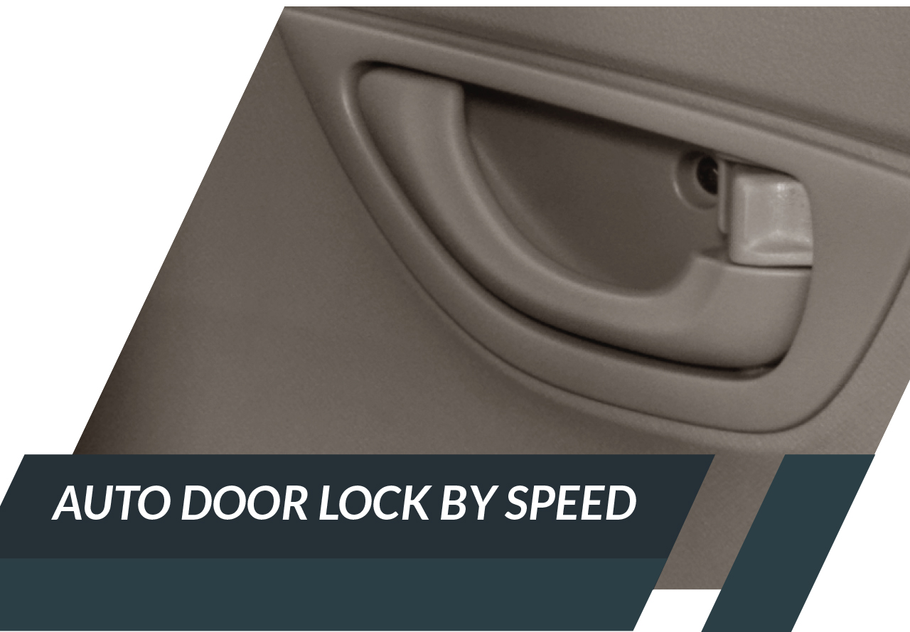 Auto Door Lock by Speed