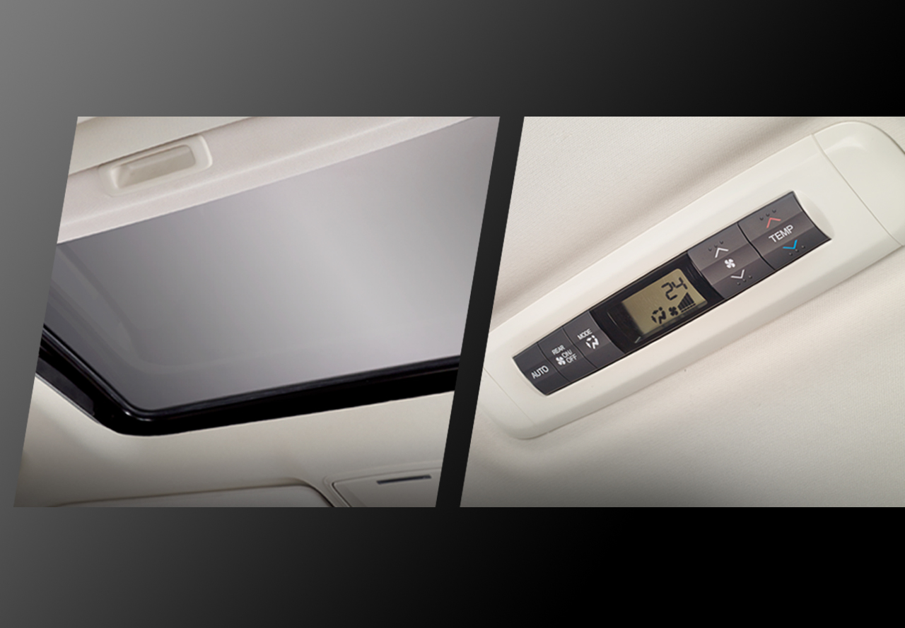 Power Sunroof & Digital Rear AC Controller