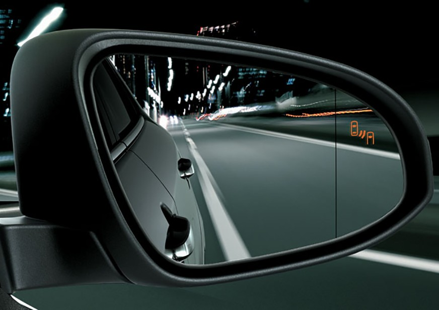 Blind Spot Monitor System