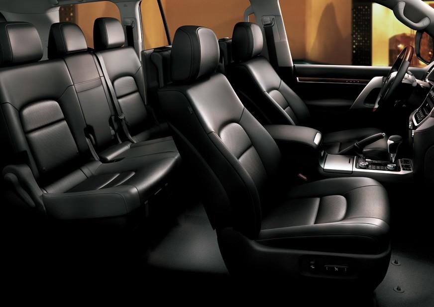 Black Interior VX-R