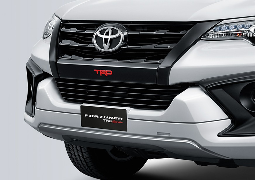 New TRD grill and Front Bumper Design