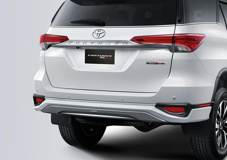 New TRD rear bumper design