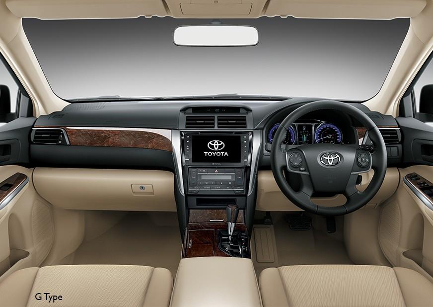New Camry Dashboard Interior