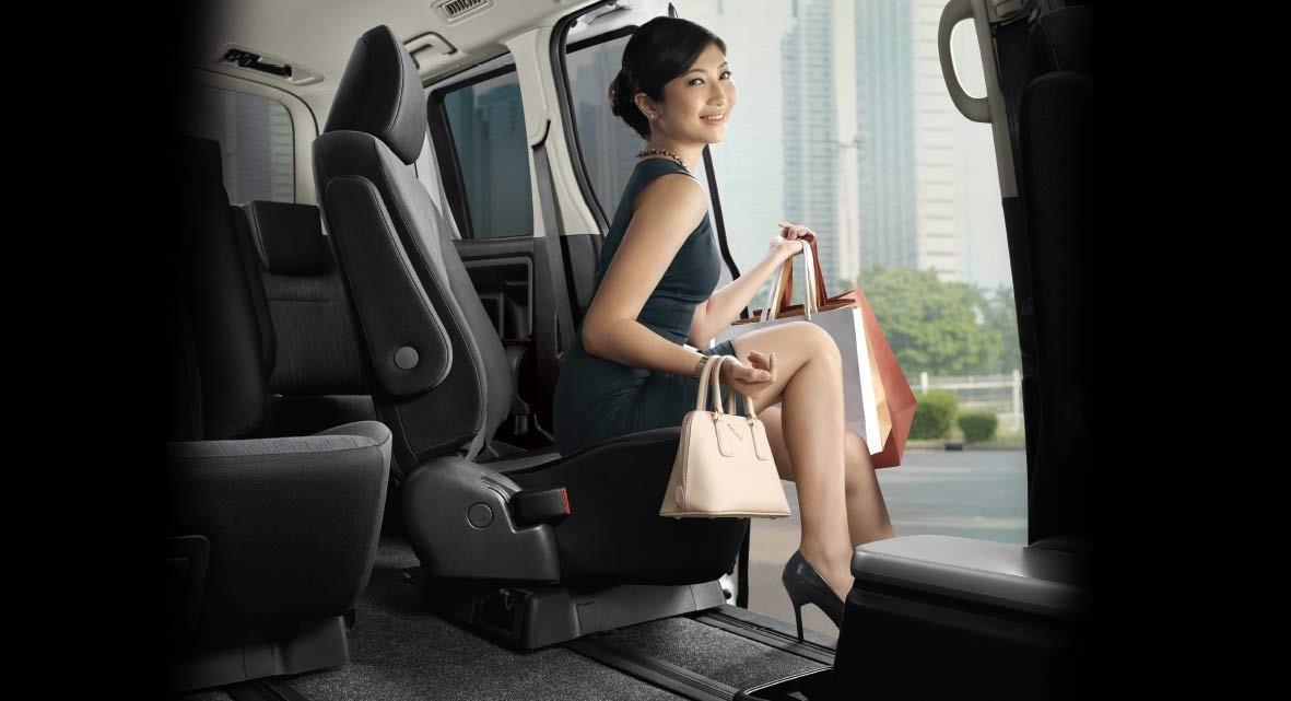 Flexible Rotary Seat