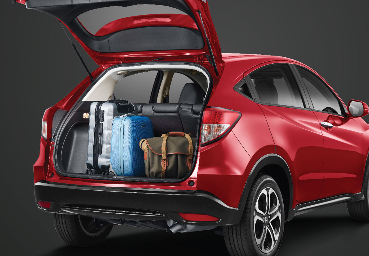 Spacious Trunk Space