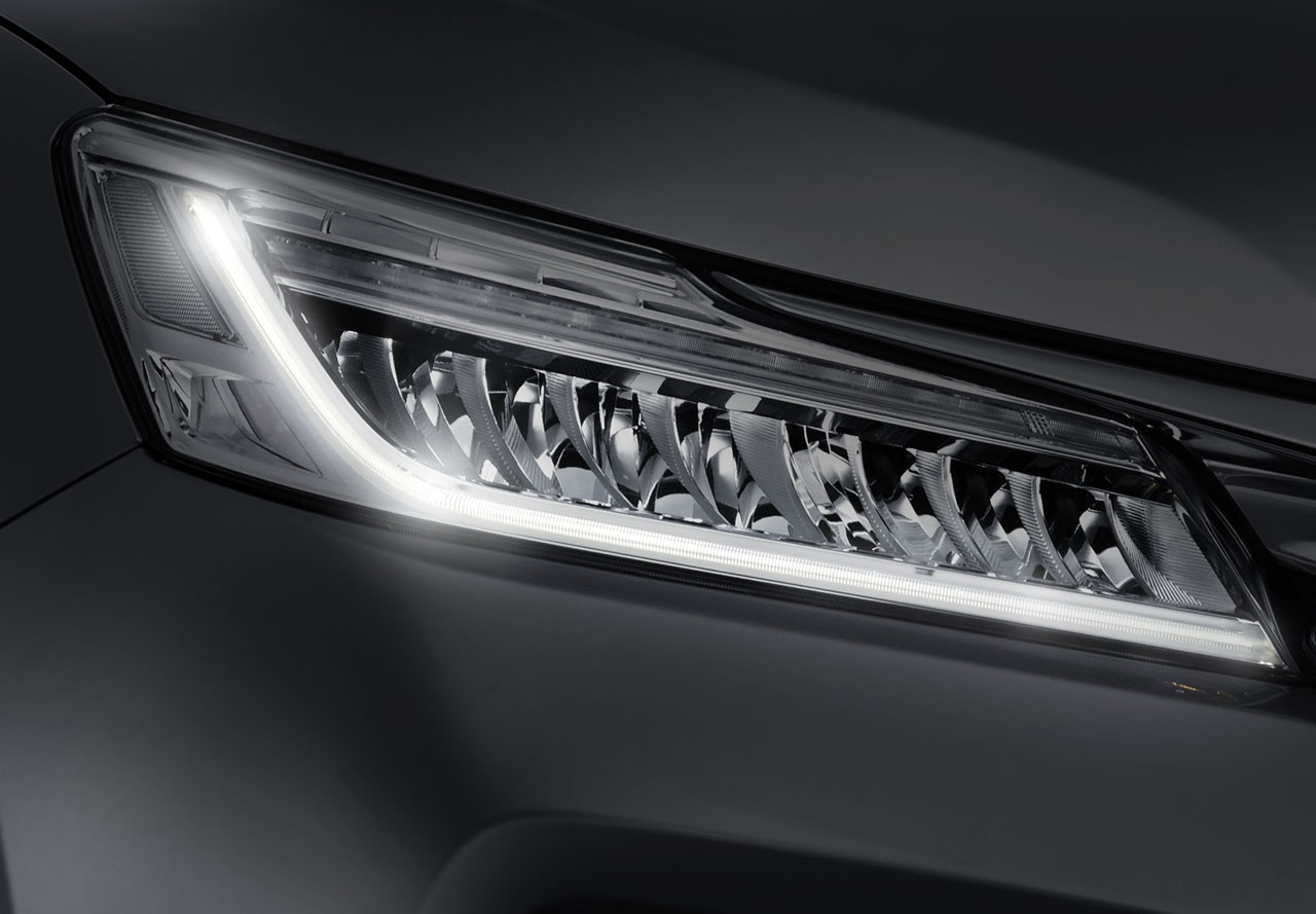 Full LED Headlight with Daytime Running Light