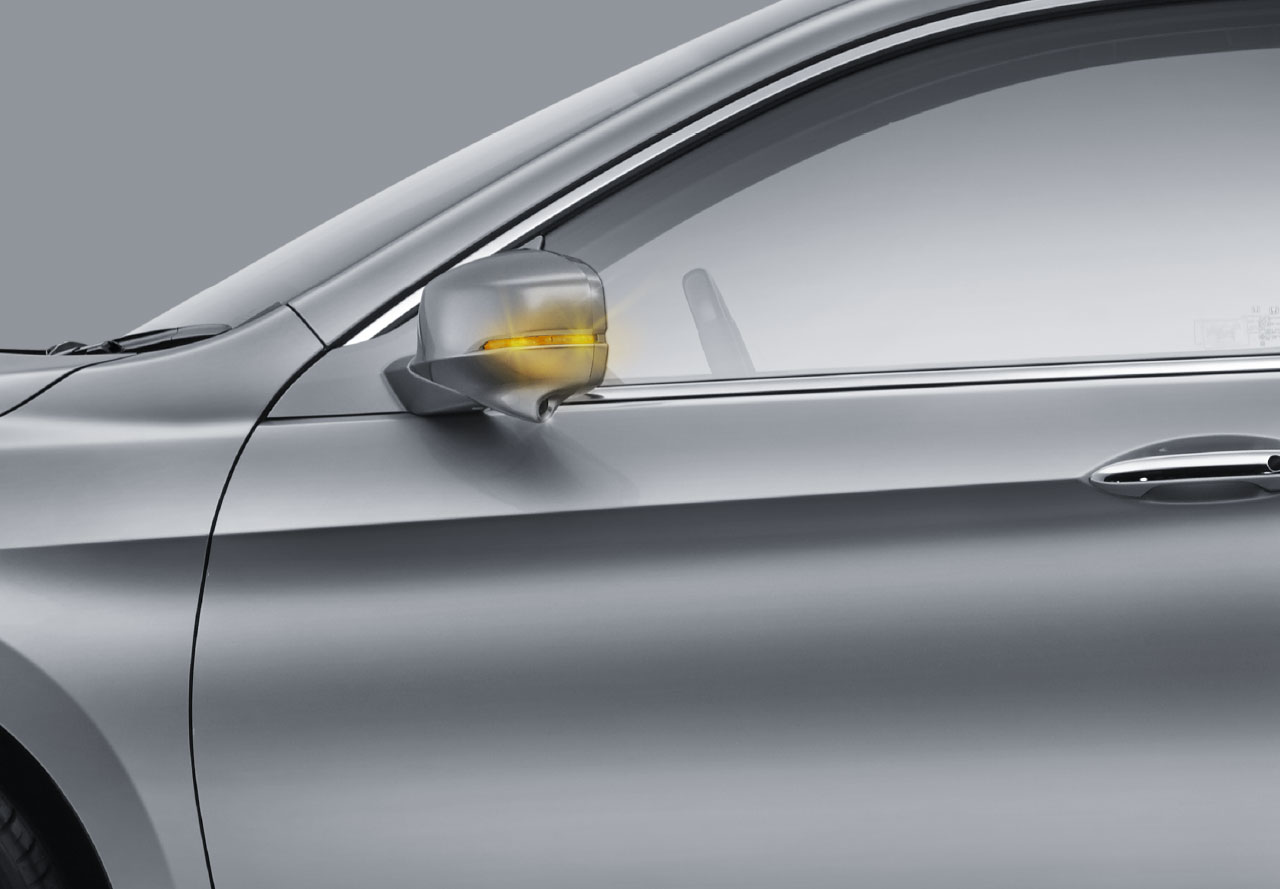Hydrophilic Door Mirror with LED turning Signal