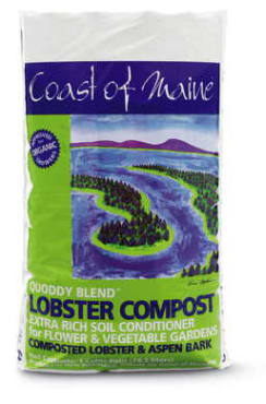 Coast of Maine Quoddy Blend™ Organic Lobster Compost