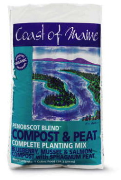 Coast of Maine Penobscot Blend™ Compost & Peat
