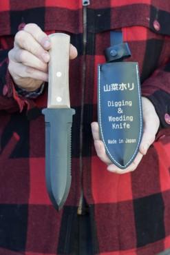 Weeding Knife or <em>Hori-Hori</em>