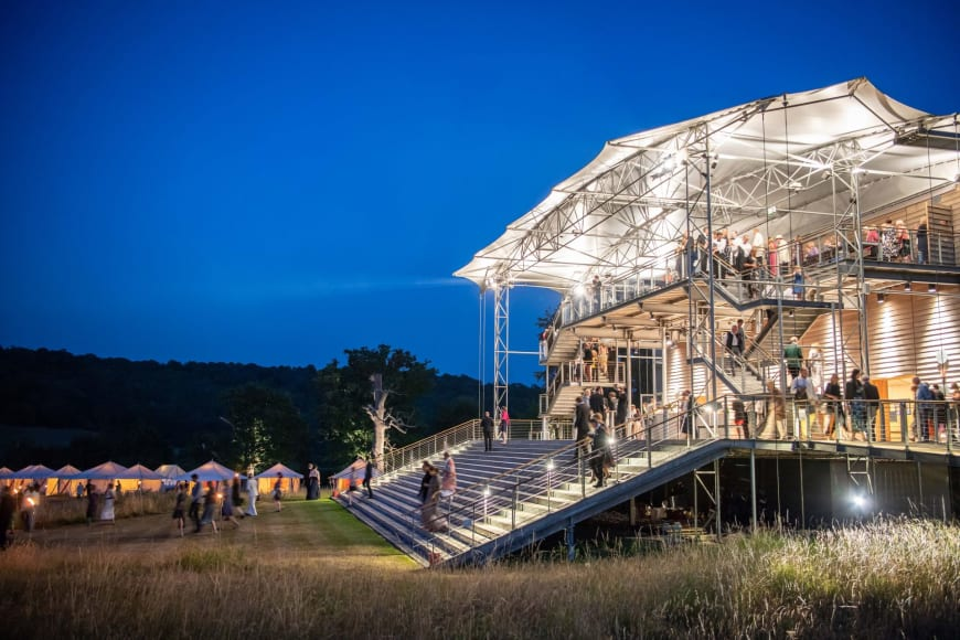Garsington Opera, Wormsley Estate,  Buckinghamshire, UK