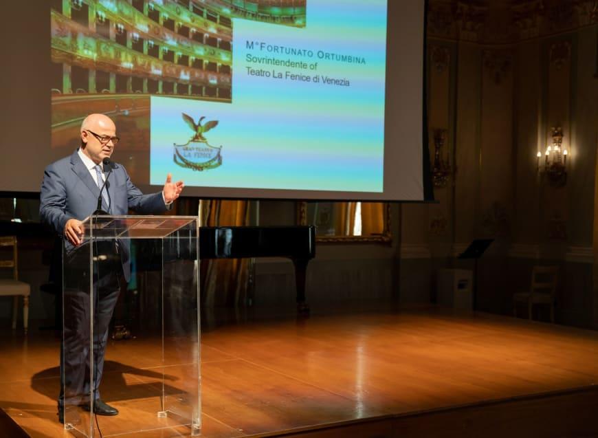 Maestro Fortunato Ortumbina, Sovrintendente of  Teatro La Fenice di Venezia