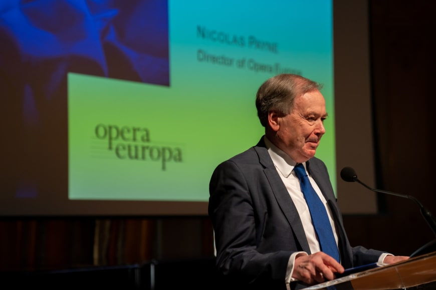 Nicholas Payne, Director of Opera Europa