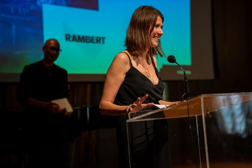 Benoit Swan Pouffer, Artistic Director of Rambert and Helen Shute, Chief Executive & Executive Producer