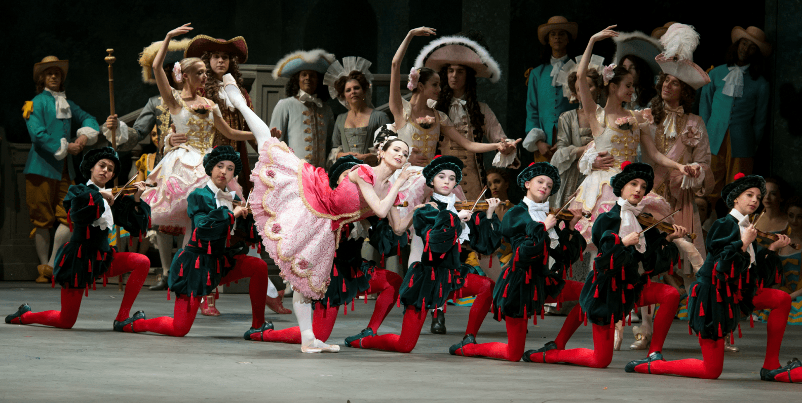 Diana Vishneva as Aurora in the Sleeping Beauty