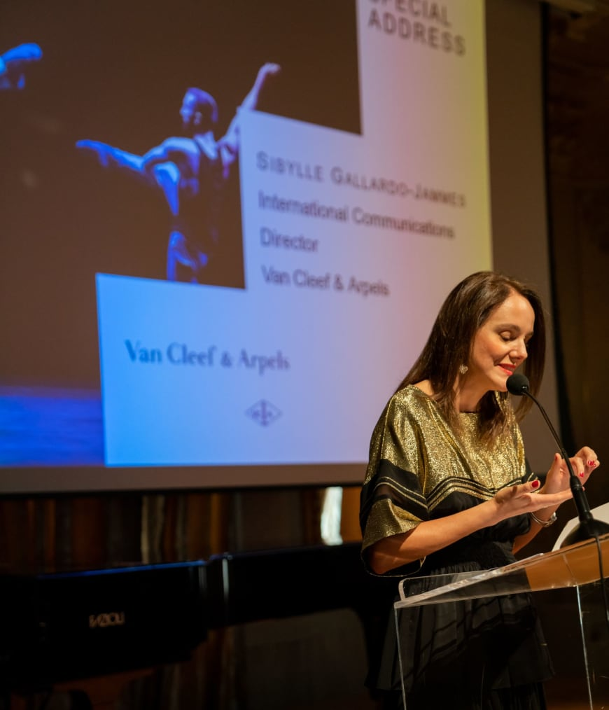 Sibylle Gallardo-Jammes, International Communications Director of Van Cleef & Arpels