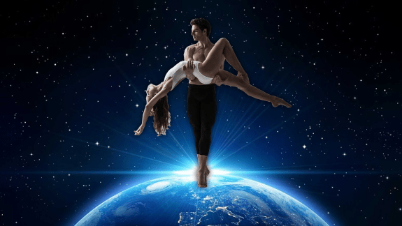 Futuristic Space Lovers Ballet