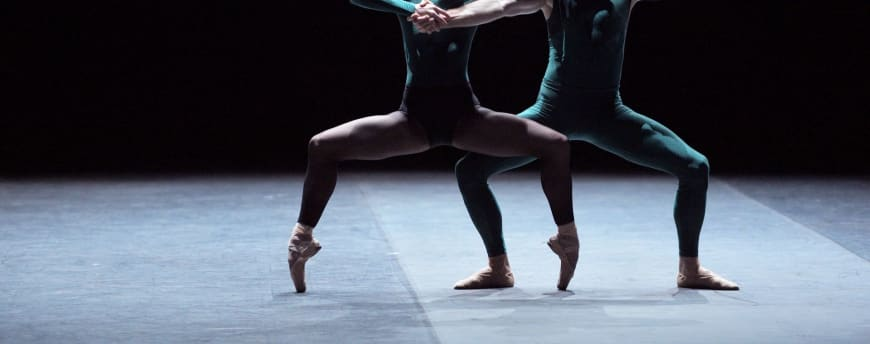 Tiffany Heldman and James Streeter in In the Middle Somewhat Elevated