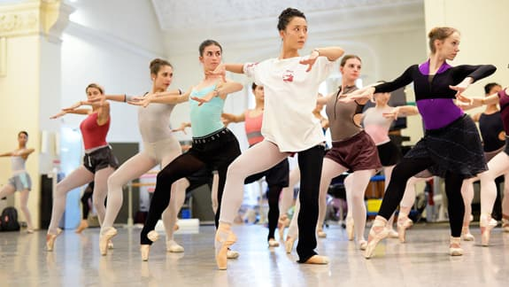 English National Ballet - The Cage - rehearsals