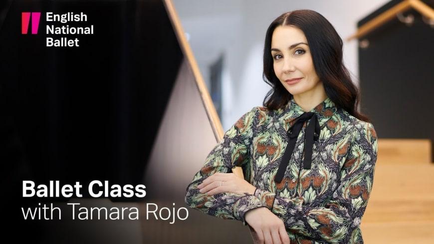 Ballet class with Tamara Rojo