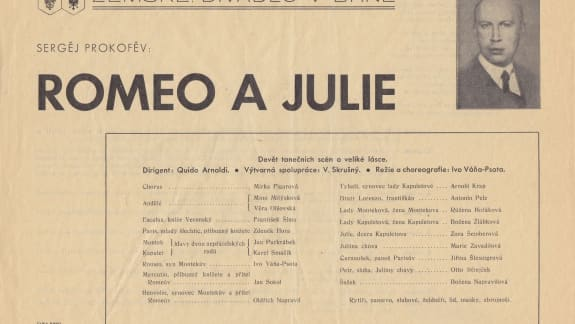 Romeo and Juliet (1938) World Premiere Programme_Front