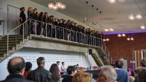 201905_Roadshow NTM_Opening Alphabet Tage_Alphabet-Choir and guests (c) Hans Jörg Michel