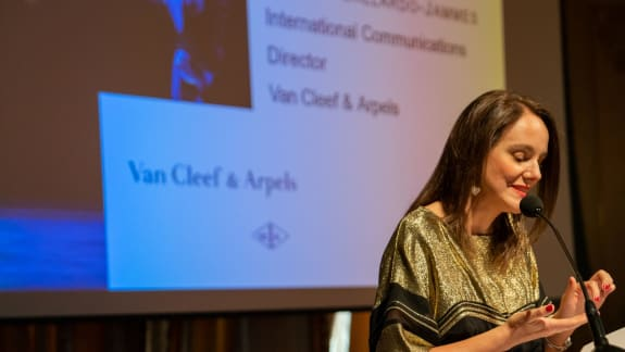 Sibylle Gallardo-Jammes, International Communications Director of Van Cleef & Arpels France