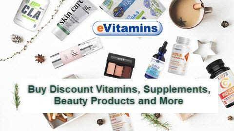 eVitamins 10% Off Any Item