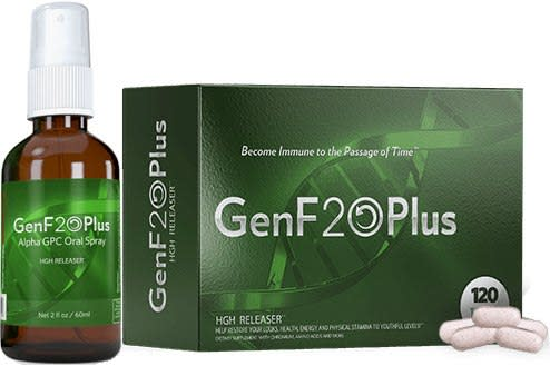 GenF20 Plus HGH Releaser - Best Human Growth Hormone Product