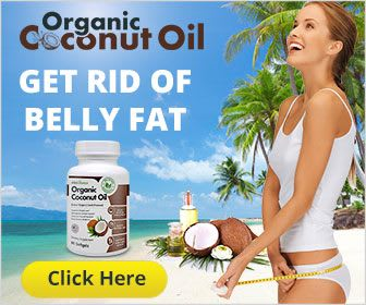 Lady reduced belly fat after consuming coconut oil