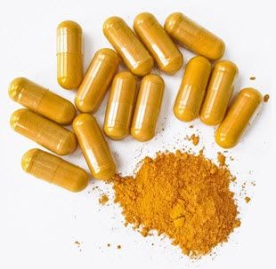 Turmeric Curcumin Plus Capsules, Dietary Supplement Natural Superfood