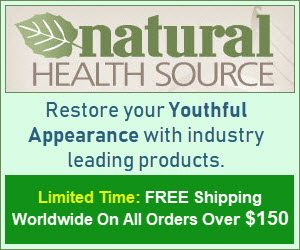 Natural Health Source - FREE Shipping Worldwide On All Orders Over $150